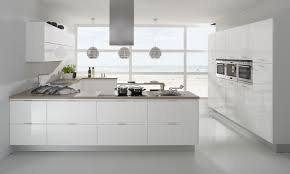 design awesome all white european kitchen design with natural