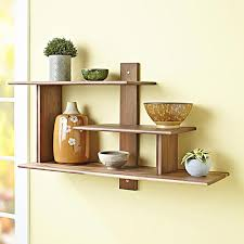 Wall Mounted Shelves Wood Plans by Dining Room Elegant Decorative Modern Wall Shelves Recycled Things