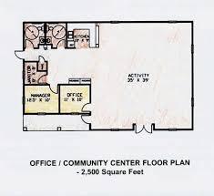 Community Center Floor Plans Aamagin Property Group Virtual Tour