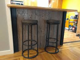 Bar Stool For Kitchen Island Kitchen Island Black Synthetic Leather Bar Stools Kitchen Island