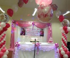 1st Birthday Decoration Ideas At Home 1st Birthday Decoration Ideas For Girls At Home Home Design Ideas