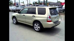 2006 subaru forester 79v my06 xt awd gold 4 speed automatic wagon