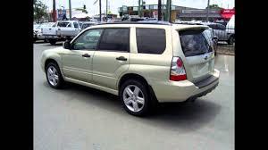 2006 subaru forester 79v my06 xt awd gold 4 speed automatic wagon