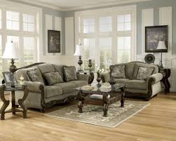 Grey Sofa And Loveseat Set Furniture Stylish Formal Living Room Furniture Set With Wooden
