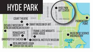 Grant Park Chicago Map by Chicago Maps