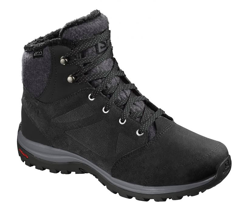 Salomon Ellipse Freeze CS WP Winter Boot Black/Phantom/Beach Glass Medium 9 L40613200-9