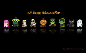 wallpapers desktop themes holidays halloween funny animated ghost