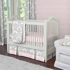 pink crib bedding home inspirations design