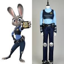 anime costumes for halloween aliexpress com buy 2016 zootopia officer rabbit judy hopps