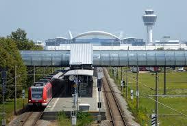 Munich Airport Besucherpark station