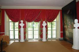 contemporary valances for living room beige wooden wall background