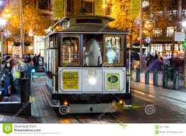 San Francisco Cable Car Map by San Francisco Usa The Cable Car Tram Editorial Photo Image