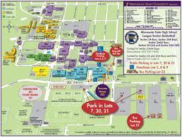 Map Of University Of Michigan by Maps U0026 Directions U2013 Parking U2013 Minnesota State University Mankato