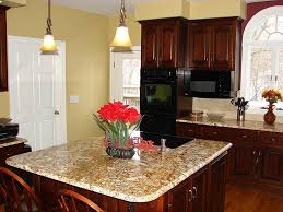 Kitchen Cabinet Paint Color Cherry Wood Kitchen Cabinets Paint Color Tehranway Decoration