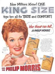 Philip Morris Lucille Ball - 1953 - Philip Morris - 19530615 Life