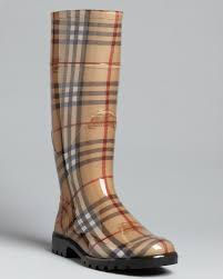 Burberry Home Decor Burberry Rain Boots Haymarket Check Plaid Bloomingdale U0027s