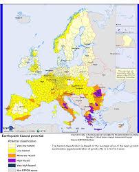 Tectonic Plate Map Europe Earthquake Hazard Map Maps Knowledge Base