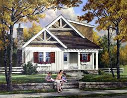 Craftsman Home by House Plan 57068 At Familyhomeplans Com