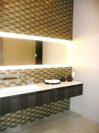 bathroom appealing kastos bathroom mirror with led lighting by