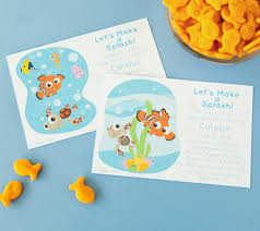 Finding Nemo Centerpieces by Finding Nemo Printable Invitations Get Your Baby Shower Off On
