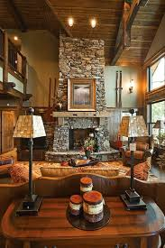 Lodge Living Room Decor by My Dream House Assembly Required 36 Photos Fireplaces Cabin