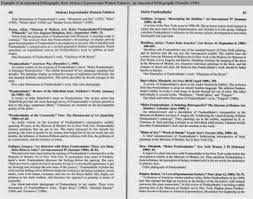 MLA Annotated Bibliography Templates     Free Sample  Example