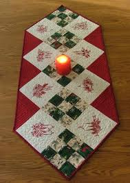 Quilted Table Runners by Easy Table Runner Neneng Quilt Projects Pinterest
