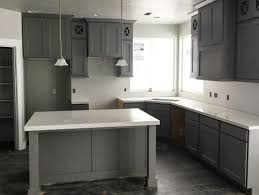 Dark Stained Kitchen Cabinets Grey Stained Kitchen Cabinets Gallery Also Oak Pictures Trooque