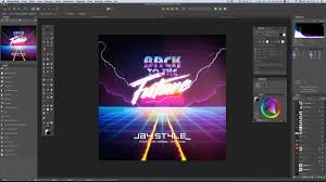 retro 80s graphic design share your work affinity forum