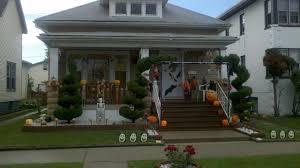 halloween decorations skeletons ideas outdoor halloween decoration ideas to make your home look