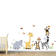 Tree Decal For Nursery Wall by Nursery Decals Cute Wall Decals For Nursery Baby Nursery Wall
