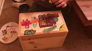 diy how to build a homemade toy box youtube