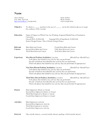 Political Science Resume  sample of resume may   cover letter