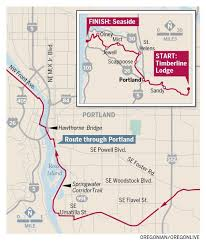Zip Code Map Portland Or by Hood To Coast 2015 Takes Over Oregon Roadways Friday Saturday