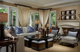 English Country Home Decor Brown And Blue Interior Color Schemes For An Earthy And Elegant Room
