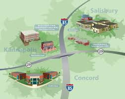 Bc Campus Map Rowan Cabarrus Community College Rowan Cabarrus