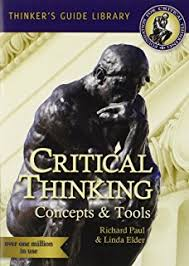 This is great chart on critical thinking  It gives you a break down of  critical