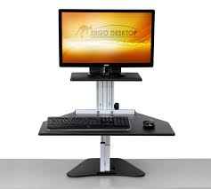 kangaroo adjustable height desk ergo desktop