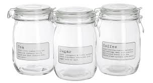 100 storage canisters kitchen gibson 3 pc canister set