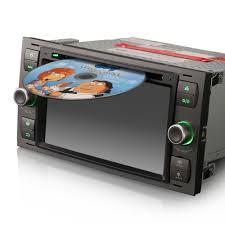 car radio dvd player gps sat nav bluetooth usb stereo for ford