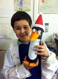 making christmas penguins art cabin u0027s blog