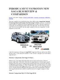 perodua myvi vs proton new saga blm review car car body styles