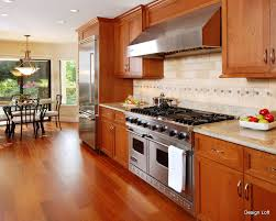 Kitchen Backsplash Cherry Cabinets by Best Color With Cherry Cabinets Jpg Counters Pinterest