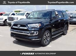 toyota 4runner 2017 new toyota 4runner limited 4wd at toyota of fayetteville