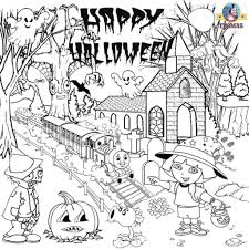 Printable Halloween Tracts by Coloring Pages Middle Free Coloring Pages Middle