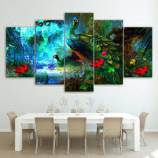 Silk Peacock Home Decor by Compare Prices On Peacock Posters Online Shopping Buy Low Price