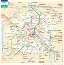 Charles De Gaulle Airport Map Paris Metro Map U2013 The Paris Pass