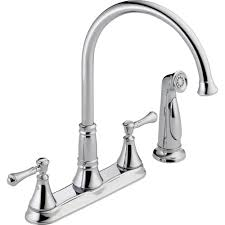 Repairing A Kitchen Faucet by Delta Signature Single Handle Pull Out Sprayer Kitchen Faucet In