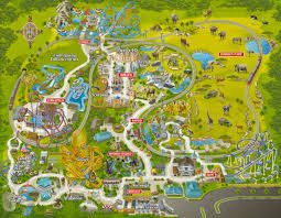 Orlando Universal Studios Map by Out And About