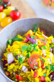 Pasta Salad Ingredients Syn Free Orzo Primavera Pasta Salad Slimming World Pinch Of Nom